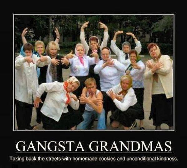 Gangsta Grandmas - Funny pictures