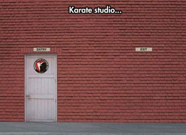 Karate Studio - Funny pictures