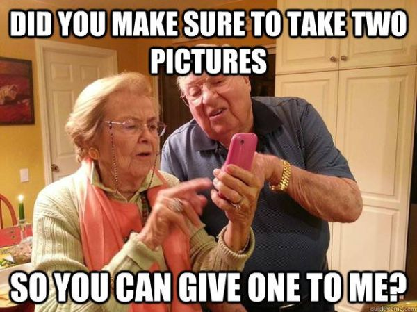 Old Folks And Technology - Funny pictures