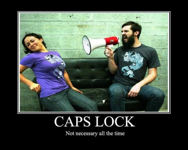 Caps Lock - Funny pictures