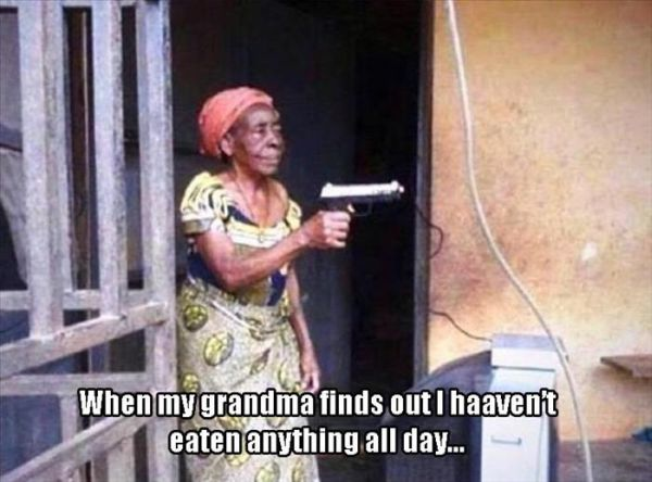 Don't Mess With Grandma - Funny pictures