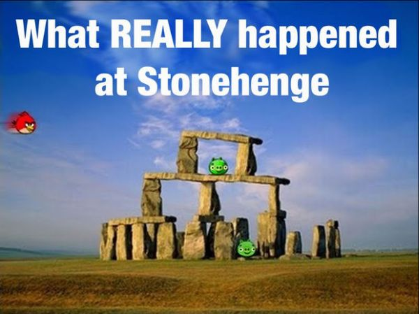 What Really Happened At Stonehenge - Funny pictures
