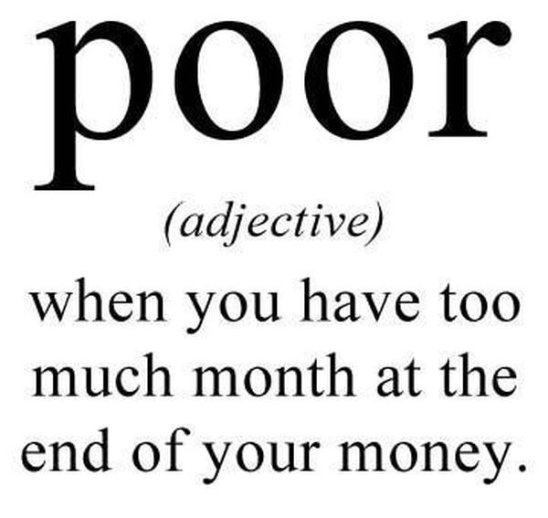 Definition Of Poor - Funny pictures