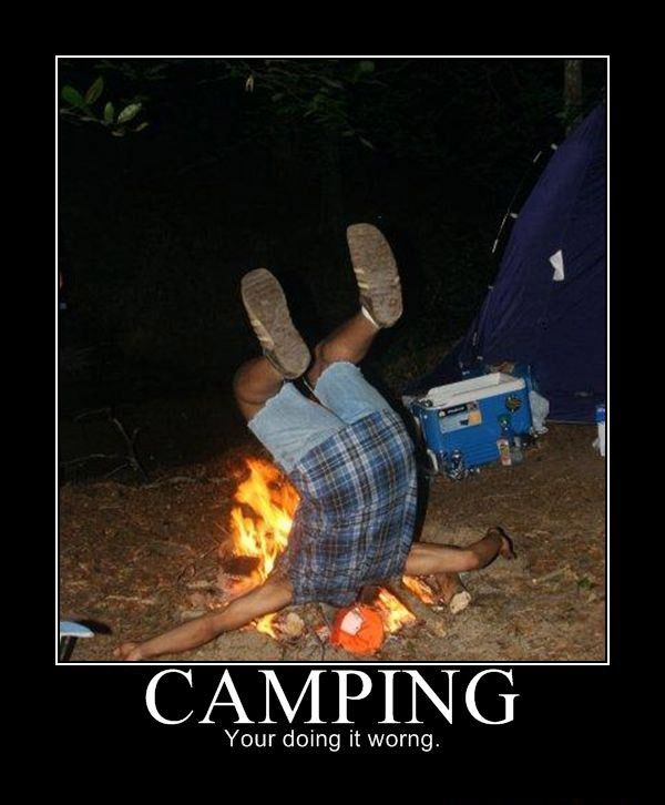 Camping - Funny pictures