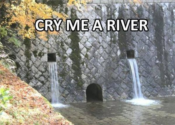 Cry Me A river - Funny pictures