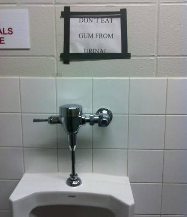 Toilet Message - Funny pictures