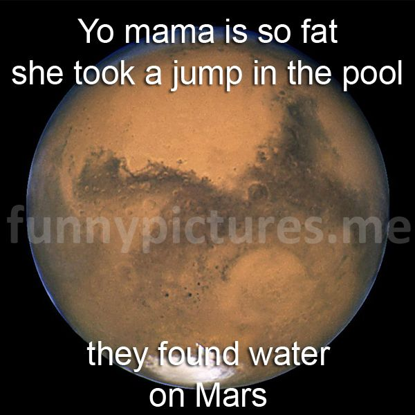 Yo Mama Is So Fat She Took A Jump In The Pool They Found... - Funny pictures