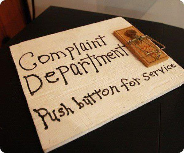 Complaint Department - Funny pictures