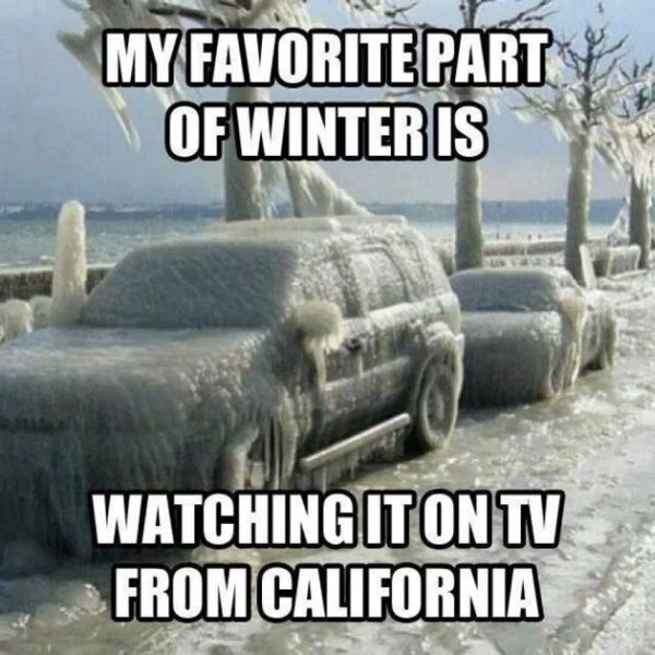 My Favorite part Of Winter Is - Funny pictures