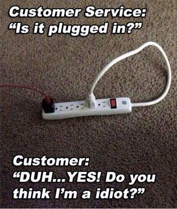 Is It Plugged In? - Funny pictures