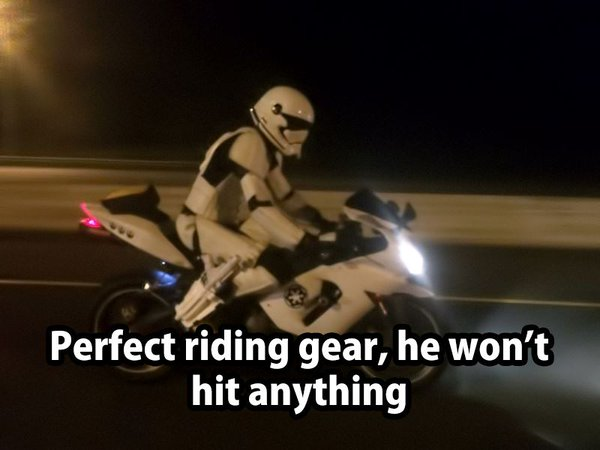 Perfect Riding Gear - Funny pictures