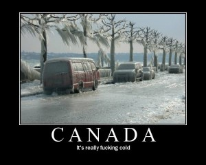 Move To Canada They Said - Funny pictures