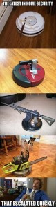 The Latest In Home Security - Funny pictures
