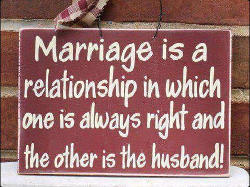 The True Definition Of Marriage Funny Pictures